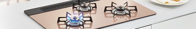 ビルトインガスコンロのリフォームイメージ