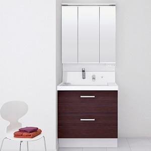 洗面化粧台/リクシルピアラ 750mm