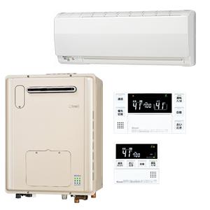 その他おすすめ機器/リンナイ浴室暖房乾燥機+熱源機セット