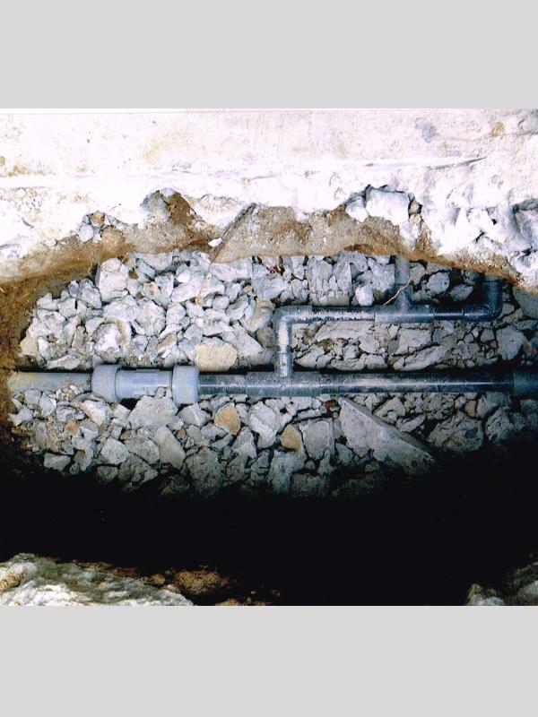 漏水修繕(コンクリート補修あり)のリフォーム2